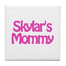 Skylar's Mommy Tile Coaster
