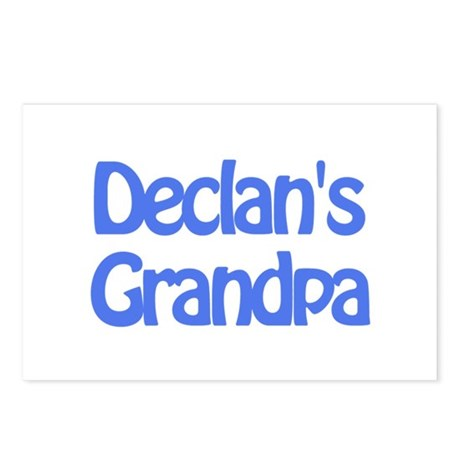 Declan's Grandpa Postcards (Package of 8)