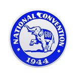 '44 Republican Convention Ornament (Round)