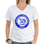 '44 Republican Convention Women's V-Neck T-Shirt
