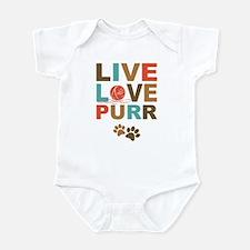 Live Love Purr Infant Bodysuit