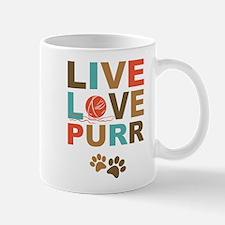 Live Love Purr Mug