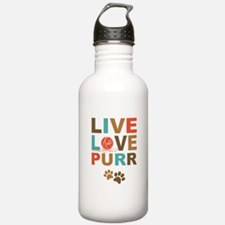 Live Love Purr Water Bottle