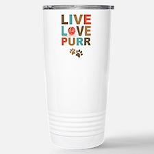 Live Love Purr Travel Mug
