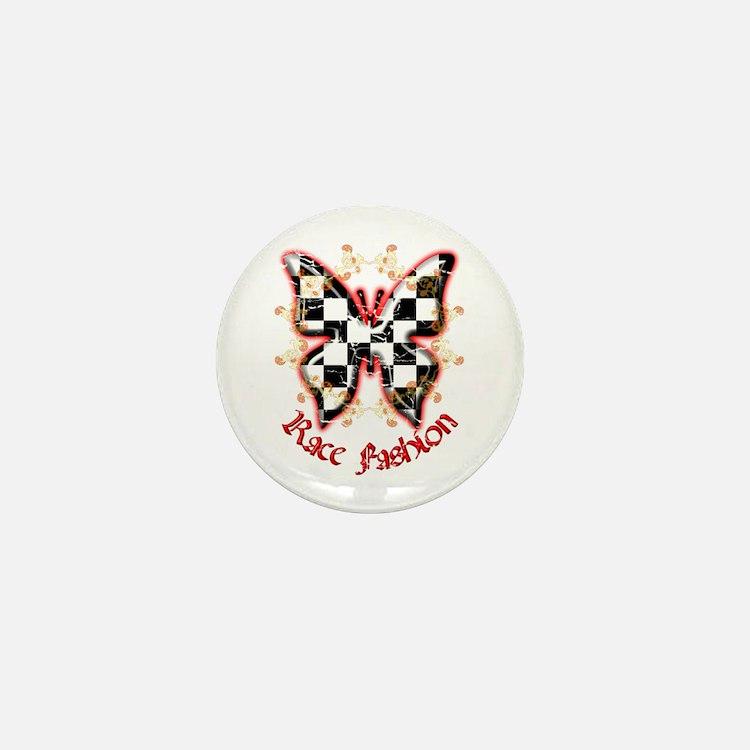 RaceFashion.com Butterfly Mini Button