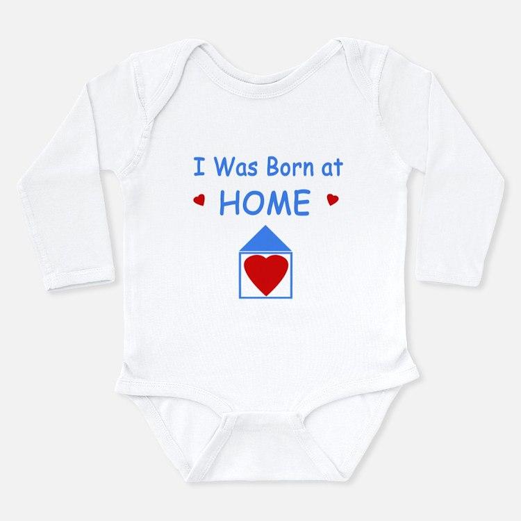 Cute Baby hippie Long Sleeve Infant Bodysuit