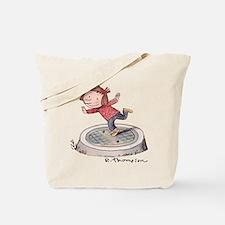 Alice posing.png Tote Bag