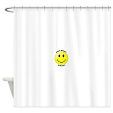 Smiley - Don't Worry Be Happy Shower Curtain