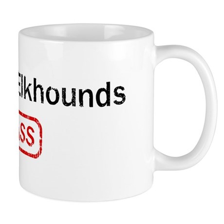 Norwegian Elkhounds Kick ass Mug