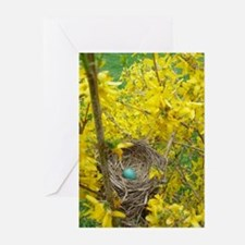 Unique Spring eggs Greeting Cards (Pk of 20)