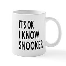I Know Snooker Small Small Mug