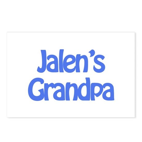 Jalen's Grandpa Postcards (Package of 8)