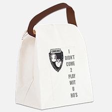 Cute I love nerds Canvas Lunch Bag
