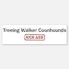 Treeing Walker Coonhounds Kic Bumper Bumper Bumper Sticker