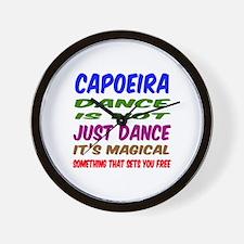 Capoeira dance is not just dance Wall Clock