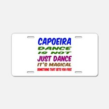 Capoeira dance is not just Aluminum License Plate