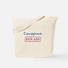Cavapoos Kick ass Tote Bag
