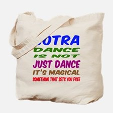Contra dance is not just dance Tote Bag