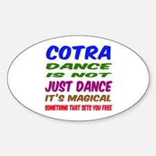 Contra dance is not just dance Decal