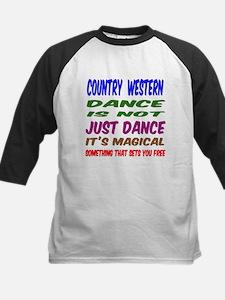 Country Western dance is not Kids Baseball Jersey