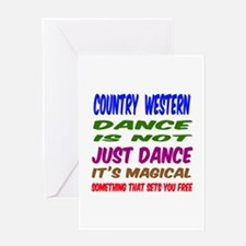 Country Western dance is not just da Greeting Card