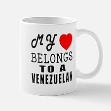 I Love Venezuelan Mug