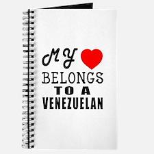 I Love Venezuelan Journal