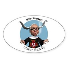 Sister Randy Oval Decal