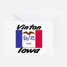 Vinton Iowa Greeting Cards (Pk of 10)