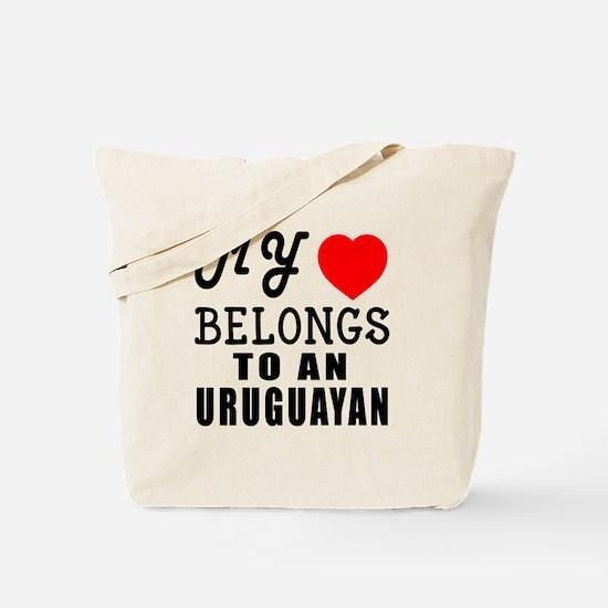 I Love Uruguayan Tote Bag