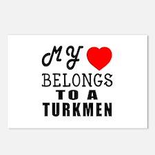 I Love Turkmen Postcards (Package of 8)