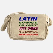 Latin dance is not just dance Messenger Bag