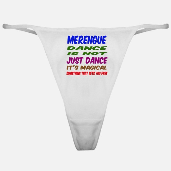 Merengue dance is not just dance Classic Thong