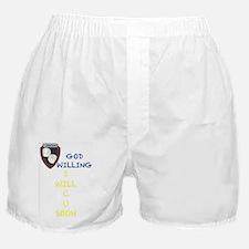 Funny God in schools Boxer Shorts