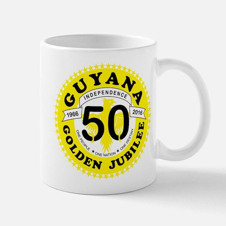 Guyana Golden Jubilee Mugs