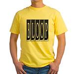 bloop Yellow T-Shirt