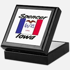Spencer Iowa Keepsake Box