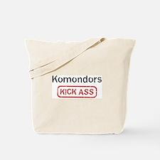 Komondors Kick ass Tote Bag