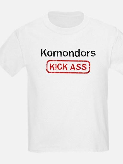 Komondors Kick ass T-Shirt
