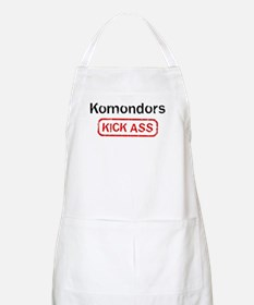 Komondors Kick ass BBQ Apron