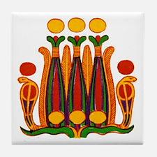 Egyptian Art Tile 2 Tile Coaster