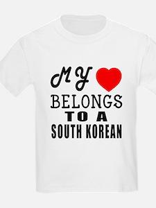 I Love South korean T-Shirt