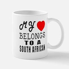 I Love South African Mug