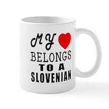 I Love Slovenian Mug
