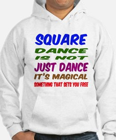 Square dance is not just dance Hoodie