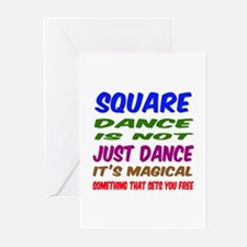 Square dance is not just Greeting Cards (Pk of 20)