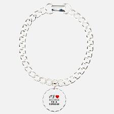 I Love Slovakian Bracelet