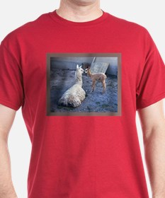 mom and baby llama T-Shirt