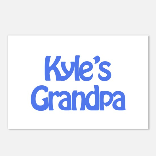Kyle's Grandpa Postcards (Package of 8)