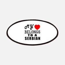 I Love Serbian Patch